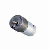 Diameter 33mm eccentric shaft dc geared motor 12V 24V
